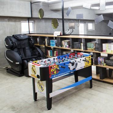 직원 위한 체력단련 및 휴게공간 설치해 개방
